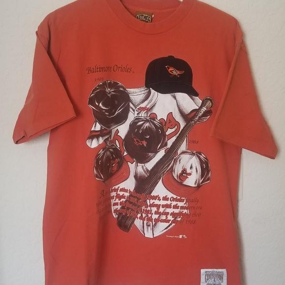 07085333fbf53 MLB Baltimore Orioles Nutmeg t shirt